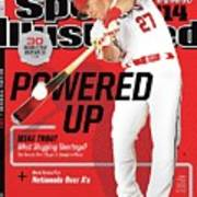 Powered Up 2014 Mlb Baseball Preview Issue Sports Illustrated Cover Art Print