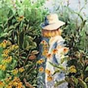 Prairie Girl Art Print