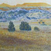 Prairie Realm Of West Dakota Art Print