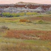 Prairie Reverie On The Western Edge Art Print