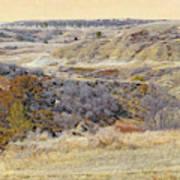 Prairie Slopes Reverie Art Print