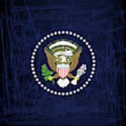 President Seal Eagle Art Print
