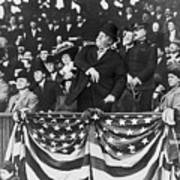 President Taft Throwing The First Pitch Art Print
