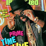 Prime Time Live Atlantas Neon Deion Sanders Sports Illustrated Cover Art Print