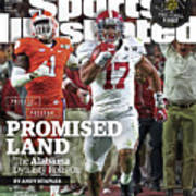 Process. Program. Promised Land. The Alabama Dynasty Rolls Sports Illustrated Cover Art Print