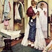 Prom Dress Art Print