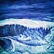 Promethea Ocean Triptych 2 Art Print