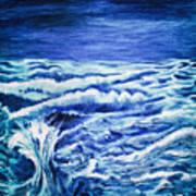 Promethea Ocean Triptych 3 Art Print