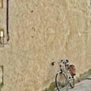 Provencial Bike Art Print