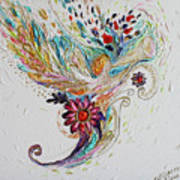 Pure Abstract #4. Trumpeting Angel Art Print