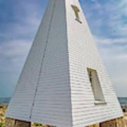Pyramid Bell Tower Maine Art Print