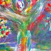 Queen Of The Lotus Flower Art Print