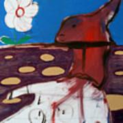 Rabbit Holes Art Print