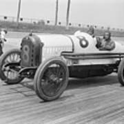 Racecar At Sheepshead Bay Track Art Print