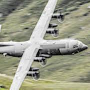 Raf C-130 Hercules 1 Art Print