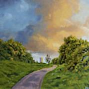 Railway Park Art Print