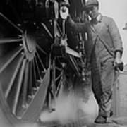 Railwayman Art Print