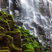 Ramona Falls In Oregon, Usa Art Print