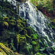Ramona Falls In Oregon,usa Art Print