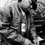 Rapper Notorious B.i.g., Aka Biggie Art Print