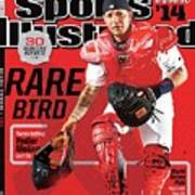 Rare Bird 2014 Mlb Baseball Preview Issue Sports Illustrated Cover Art Print