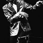 Ray Charles Dances On Stage Art Print