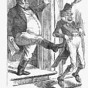 Rebellion Had Bad Luck, 1865. Artist Art Print