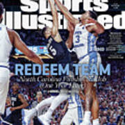 Redeem Team North Carolina Finishes The Job one Year Later Sports Illustrated Cover Art Print