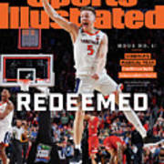 Redeemed University Of Virginia, 2019 Ncaa Champions Sports Illustrated Cover Art Print