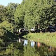 Reflections Of Bridgewater Canal - 1 Art Print