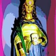 Religious Vision Art Print