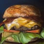 Renaissance Burger  Art Print