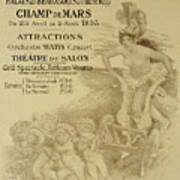 Reproduction Of A Poster Advertising An International Exhibition Of Commercial And Industrial Produ Art Print