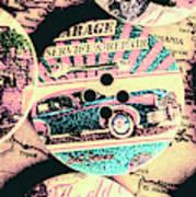 Retro Roadvival Art Print