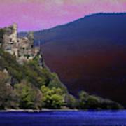 Rheinstein Castle Art Print