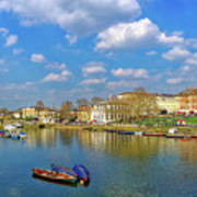 Richmond Upon Thames - Panorama Art Print