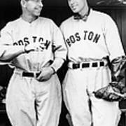 Rick And Wes Ferrell Of The Red Sox Art Print