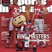 Ring Masters 2015 College Football Preview Issue Sports Illustrated Cover Art Print