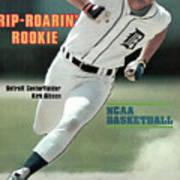 Rip-roarin Rookie Detroit Centerfielder Kirk Gibson Sports Illustrated Cover Art Print