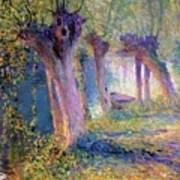 River Epte Giverny 1910  Art Print
