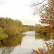 river Teviot at dusk Art Print