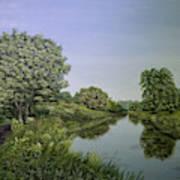 River Wey Art Print