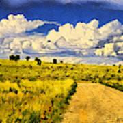 Road To Nowwhere Art Print