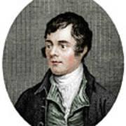 Robert Burns, Scottish Poet, 1877 Art Print