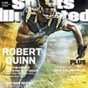 Robert Quinn 2015 Nfl Fantasy Football Preview Issue Sports Illustrated Cover Art Print