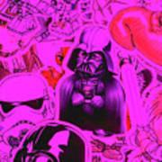 Robotic Rebellion Art Print