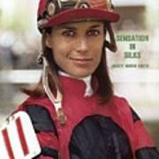 Robyn Smith, Horse Racing Jockey Sports Illustrated Cover Art Print