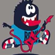 Rock, Rocker  Monster Art Print