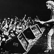 Rock Singer Tom Petty In Concert Art Print
