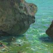 Rocks At Cap Negret Sp Art Print